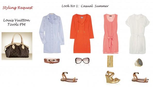 Styling advise, fashion blog, Sydney, crashingRed, styling Louis Vuitton bag Tivoli PM, casual summer look