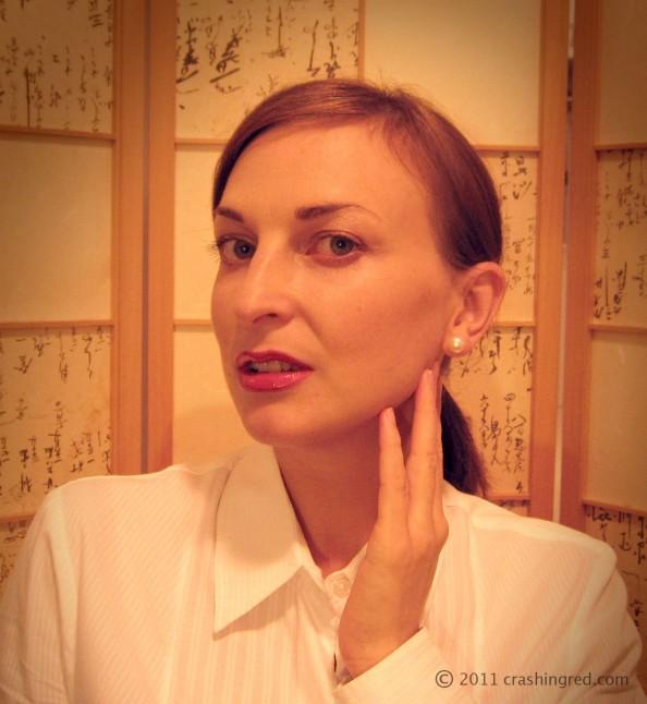 Maria Vlezko, fashion blogger, Sydney, beauty blog, red lips makeup how to