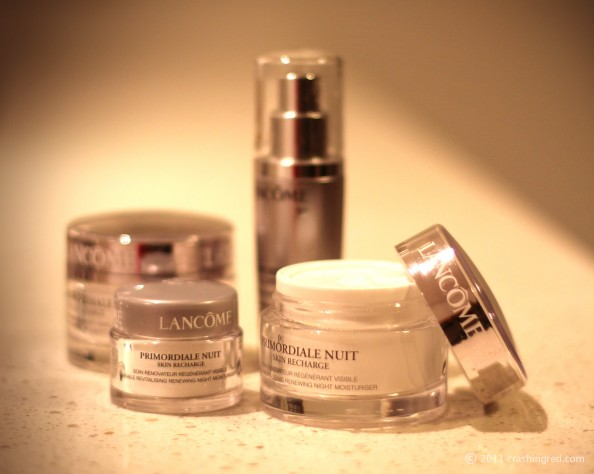 Lancome primordial, anti ageing skin care, product review, beauty blog