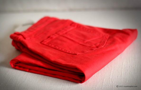 Red skinny jeans, new season fashion, key wardrobe item 2012, fashion blog Australia, witchery red jeans