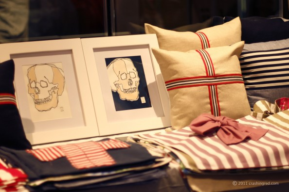 Sculls, home decor, young republic launch