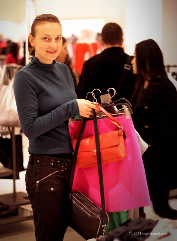 Zara Sydney shopping
