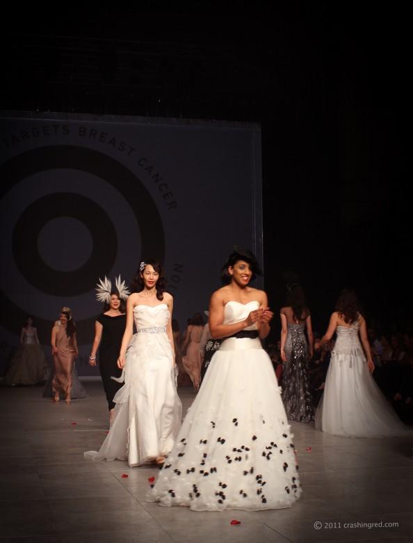 MBFFSYDNEY 2011 blog fashion week australia crashingred fashion blog runway for research show