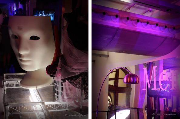 MBFFSYDNEY 2011 blog fashion week australia crashingred star lounge runway for research fashion show sydney