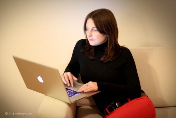 Marusya V fashion and lifestyle blogger Australia Sydney, blogging with MAC