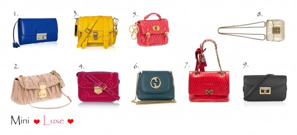 mini bags bright colors luxury brands new season fashion style bags for winter 2012 summer 2011, fashion blog Sydney,