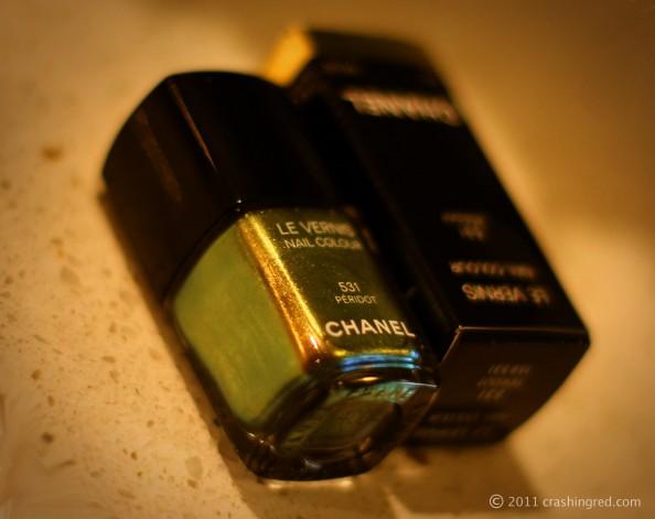 Chanel peridot new season nail polish nail color in fashion, fashion blog sydney