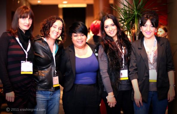 ABBW 2011, Lilit, Paula, Carina and marusya second day, crashingred, beauty blog sydney