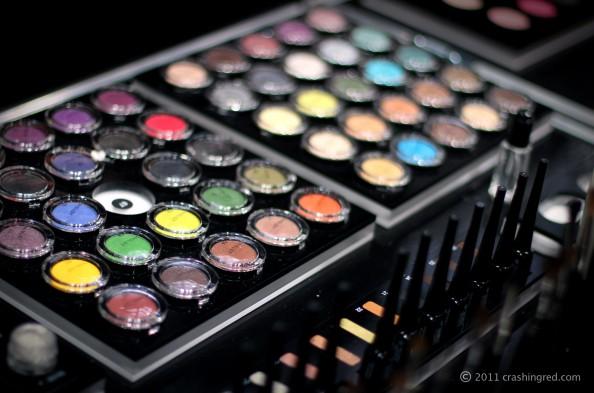 Inglot, IMATS 2011, crashingred beauty blog