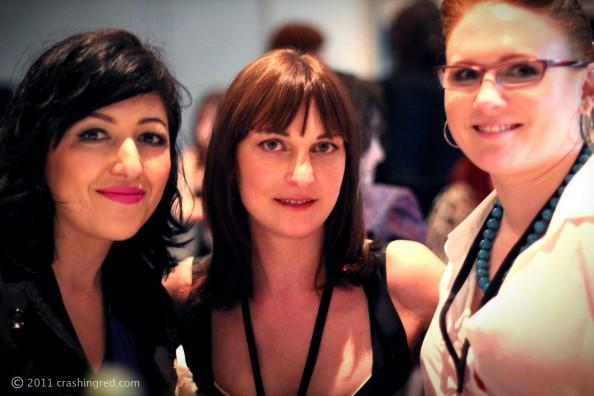 Maxted Thomas PR gala dinner for ABBW 2011 event, lilit, sara may and marusya, beauty blog australia
