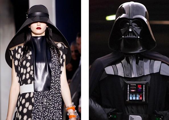 Balenciaga, fashion trend 2012, star wars, hat