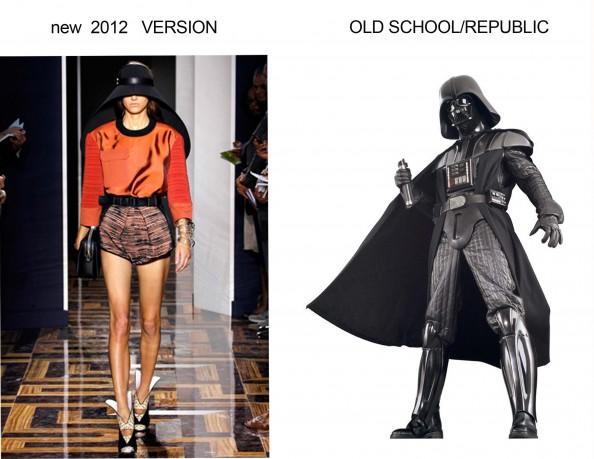Balenciaga, fashion trend 2012, star wars, hat, darth vader