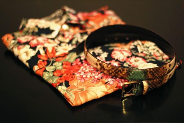 Floral print blouse zara, snake print, summer 2012 fashion trends, sydney fashion blog