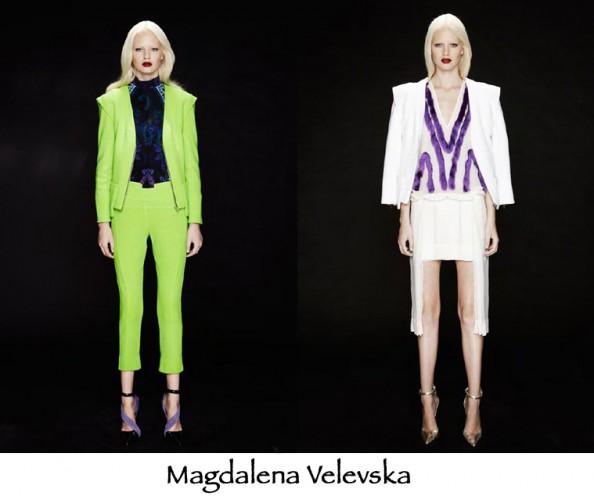 magdalena velevska, aw 2012 first look, australian designers