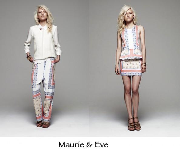 maurie and eve australian fashion, skarf print, wide lig floral pants, fashion 2012 trend