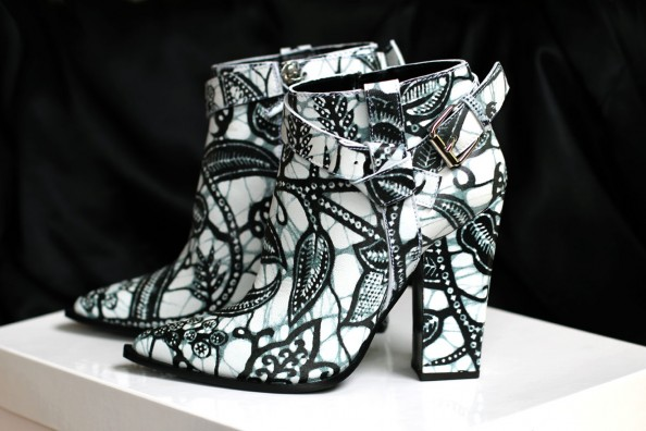 thakoon ankle booties, printed leather, sydney fashion blog
