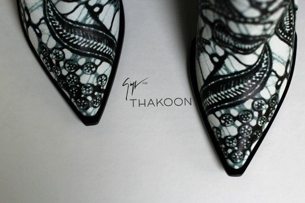 thakoon ankle booties, printed leather, sydney fashion blogger