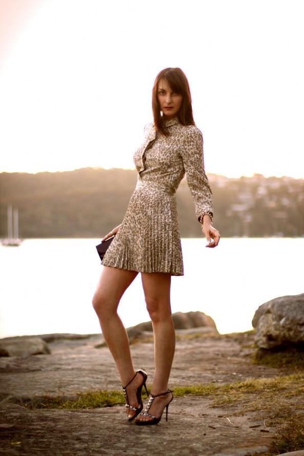 Lover, button up dress, romantic style, sydney fashion blog