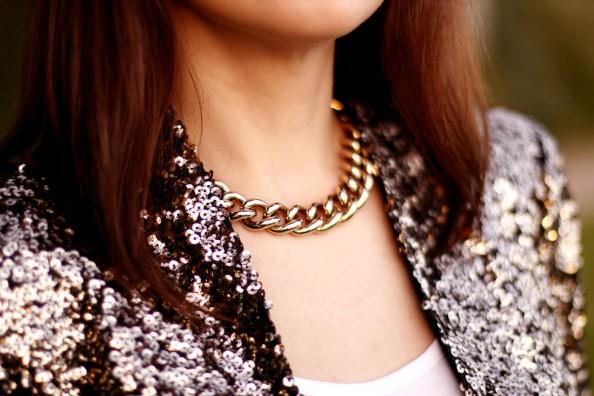 Sequinned blazer, how to wear, summer fashion trend, sydney fashion blog