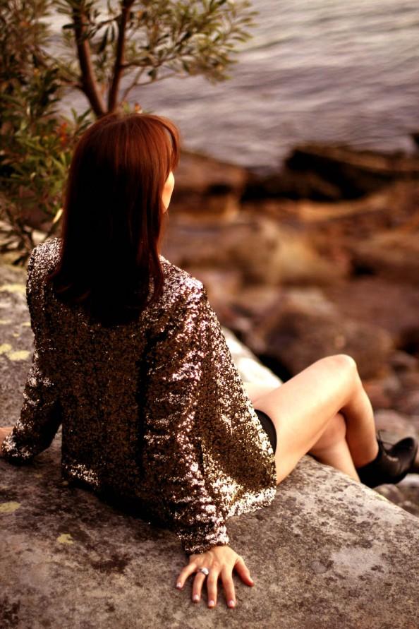 Sequinned blazer, how to wear, summer fashion trend, sydney fashion blogger