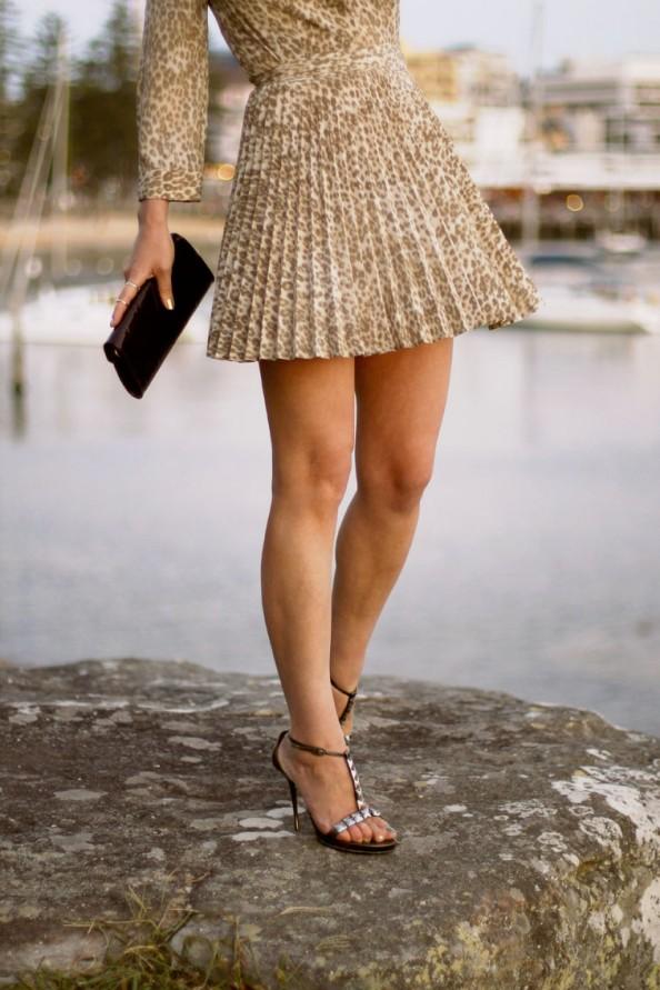 lover short dress, pleated skirt, feminine style for summer, sydney fashion blogger, high heels
