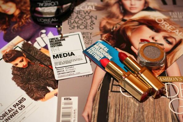 crashingred covering lmff 2012, media pass, fashion blogger fashion festival, melbourne