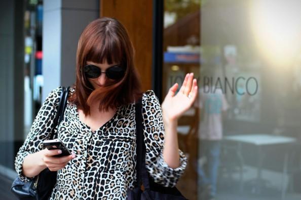 leopard print blouse, karen walker von trapp sunglasses, blogger maria v