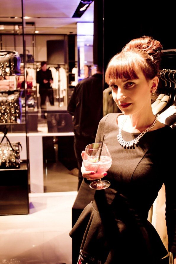 emporio armani sydney store reopening, australian fashion blog