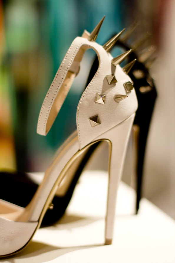 studded heels tony bianco