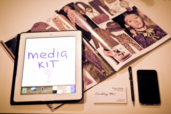 how to create a media kit for a blog