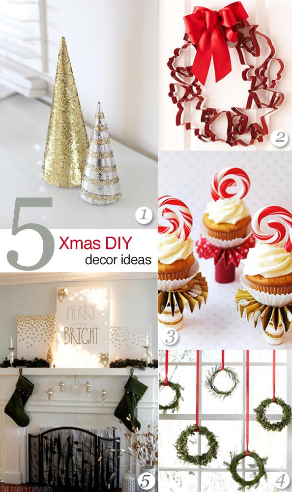 5 easy DIY christmas decor ideas