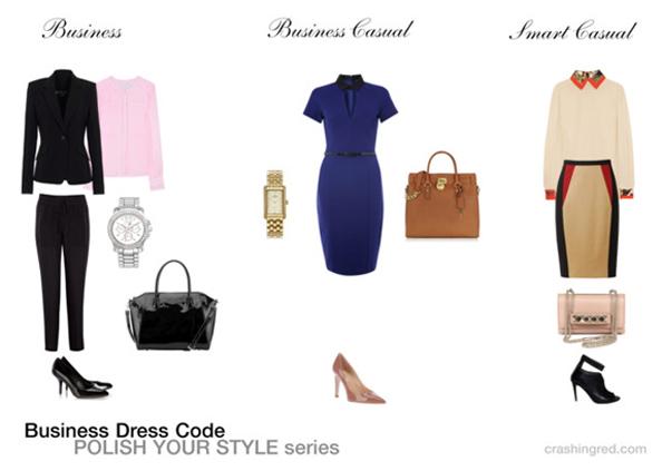 business attire, business dress code