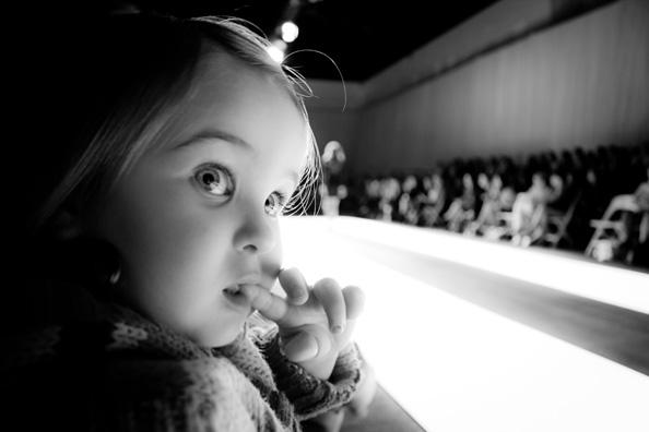 little cute baby fashionista